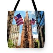 New York City Trinity Church Tote Bag