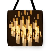 New York City Window Reflection. Tote Bag