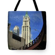 New York City - Woolworth Building Tote Bag
