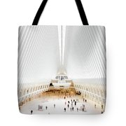 New York City World Trade Center Oculus Tote Bag