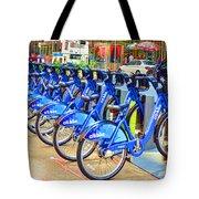 New York Citybike 1 Tote Bag