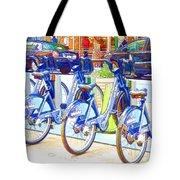 New York Citybike 2 Tote Bag