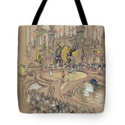 New York, Coney Island, C1906.  Tote Bag