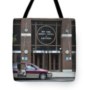 New York District Council Of Carpenters Tote Bag