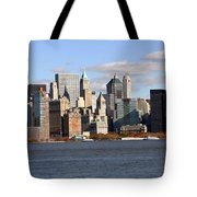 New York From Ferry Tote Bag