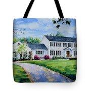 New York Home Portrait Tote Bag