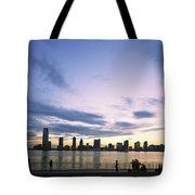 New York Hudson River Tote Bag