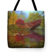 New York In Fall Tote Bag