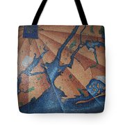 New York In Mosaic Tote Bag