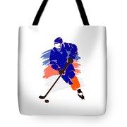New York Islanders Player Shirt Tote Bag