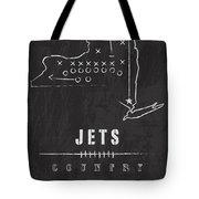 New York Jets Art - Nfl Football Wall Print Tote Bag by Damon Gray