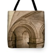 New York Library Tote Bag