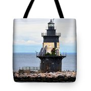 New York Lighthouse-3 Tote Bag