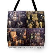 New York Mid Manhattan Medley - Photo Art Poster Tote Bag