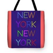 New York No 5  Tote Bag