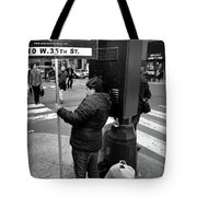 New York, New York 3 Tote Bag