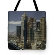 New York New York View 2 Tote Bag