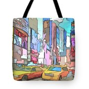 New York On A Sunday Tote Bag