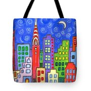 New York One Tote Bag