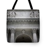 New York Public Library- Art By Linda Woods Tote Bag