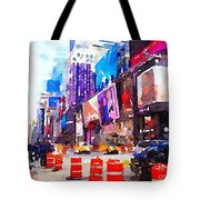 New York Pulse Tote Bag
