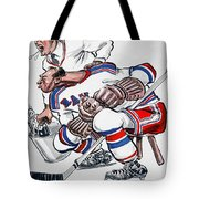 New York Rangers 1960 Program Tote Bag