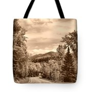 New York Roadway Tote Bag