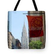 New York Scene Tote Bag