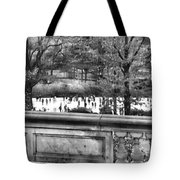 New York Skating Tote Bag