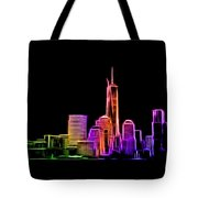 New York Skyline Tote Bag by Aaron Berg