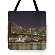 New York Skyline - Brooklyn Bridge - 6 Tote Bag