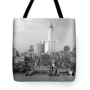 New York Skyline From Brooklyn  Tote Bag