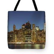 New York Skyline Panorama - 2 Tote Bag