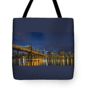 New York Skyline - Queensboro Bridge - 2 Tote Bag