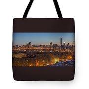 New York Skyline - Queensboro Bridge Tote Bag