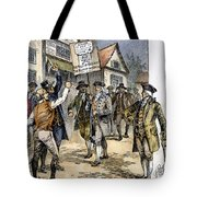 New York: Stamp Act , 1765 Tote Bag