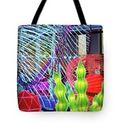 New York State Chinese Lantern Festival 4 Tote Bag