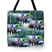 New York State Police Color Guard  1 Tote Bag