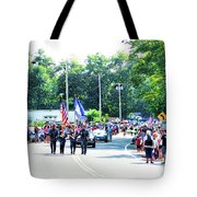 New York State Police Color Guard  2 Tote Bag