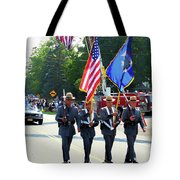 New York State Police Color Guard  5 Tote Bag