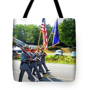 New York State Police Color Guard  6 Tote Bag
