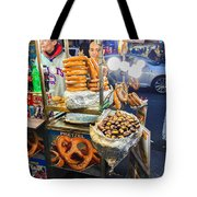 New York Street Vendor Tote Bag
