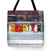 New York Streetscapes 2016 Tote Bag
