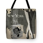 New York Style I Tote Bag