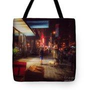 New York Summer Nights Tote Bag