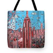 New York Urban Colors 2 Tote Bag