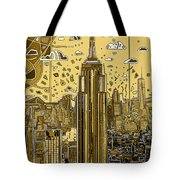 New York Urban Colors 3 Tote Bag