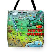 New York Usa Tote Bag