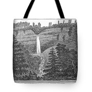 New York: Waterfall Tote Bag