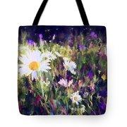 New York Wildflowers Xxv Tote Bag